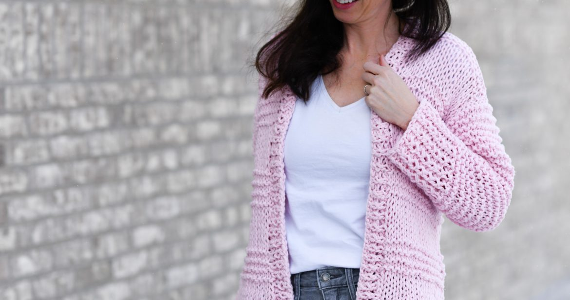 f37d44f26 Cotton Candy Easy Knit Cardigan Pattern – Mama In A Stitch