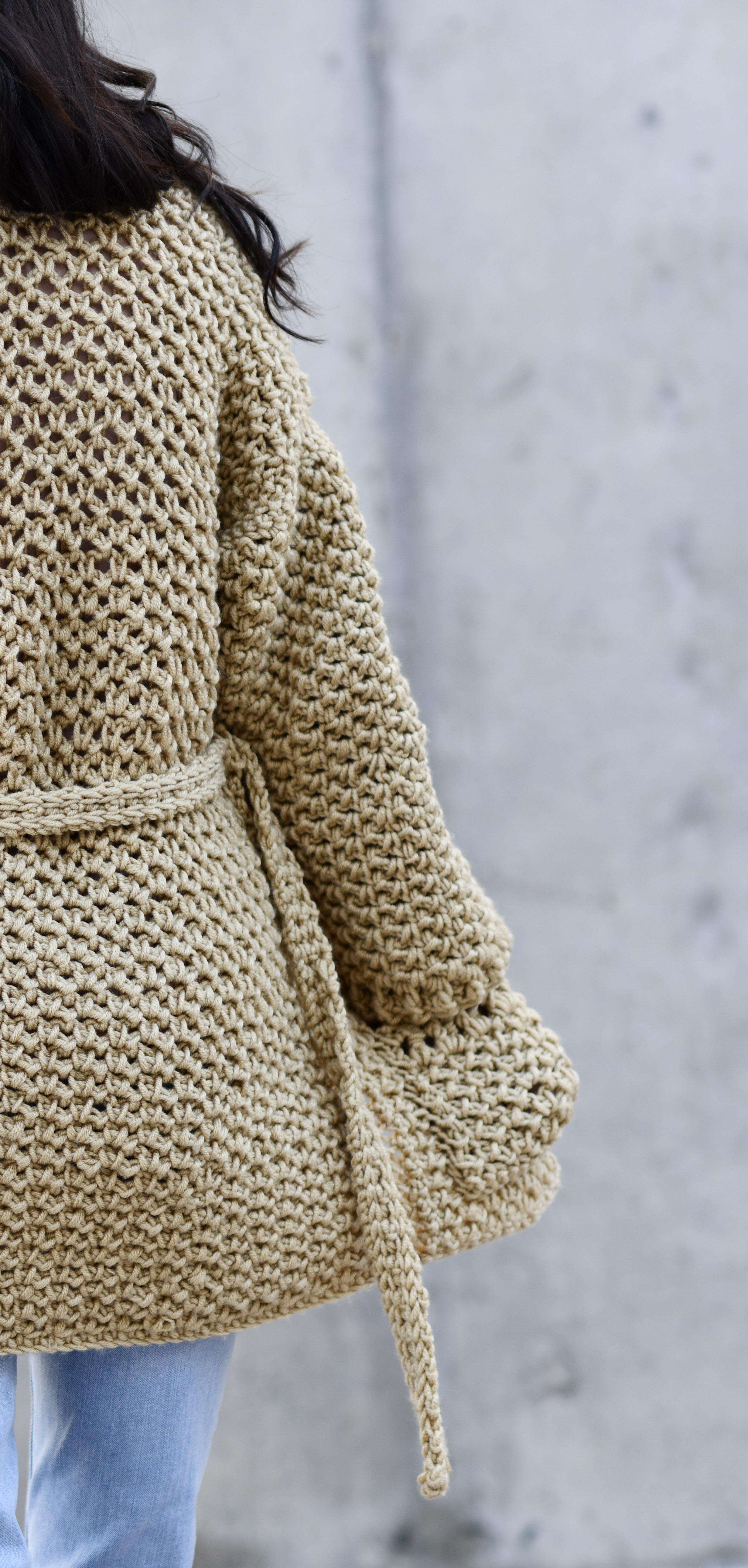 4cc2fe30b Sweater Coat Cardigan Crochet Pattern   More – Mama In A Stitch