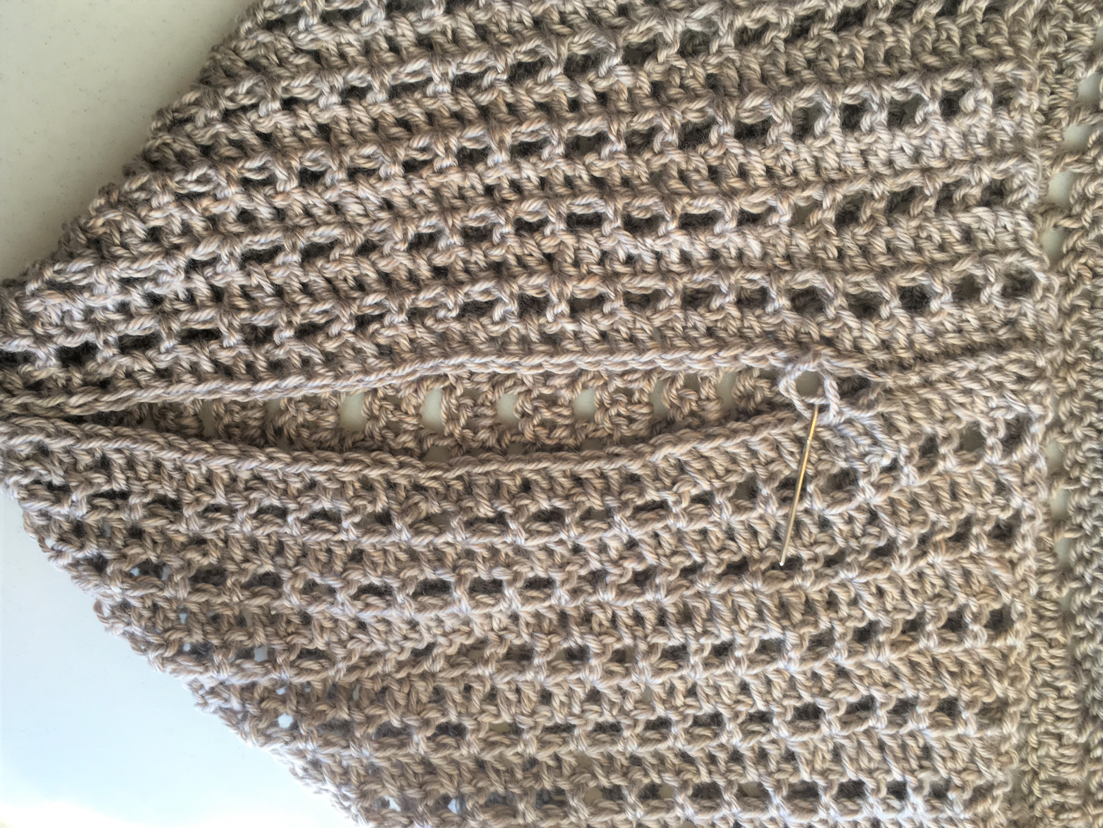 How To Crochet An Easy Summer Shrug – Mama In A Stitch