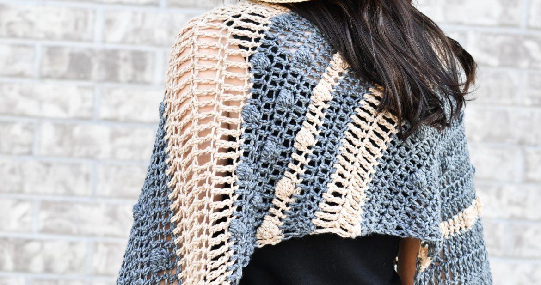 Santa Monica Bias Wrap Crochet Pattern – Mama In A Stitch
