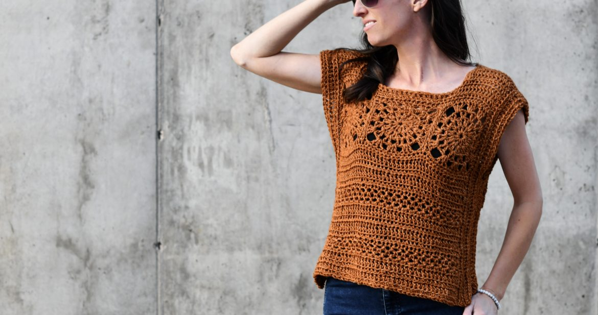 How To Crochet A Summer Boho Top Free Pattern Mama In A Stitch