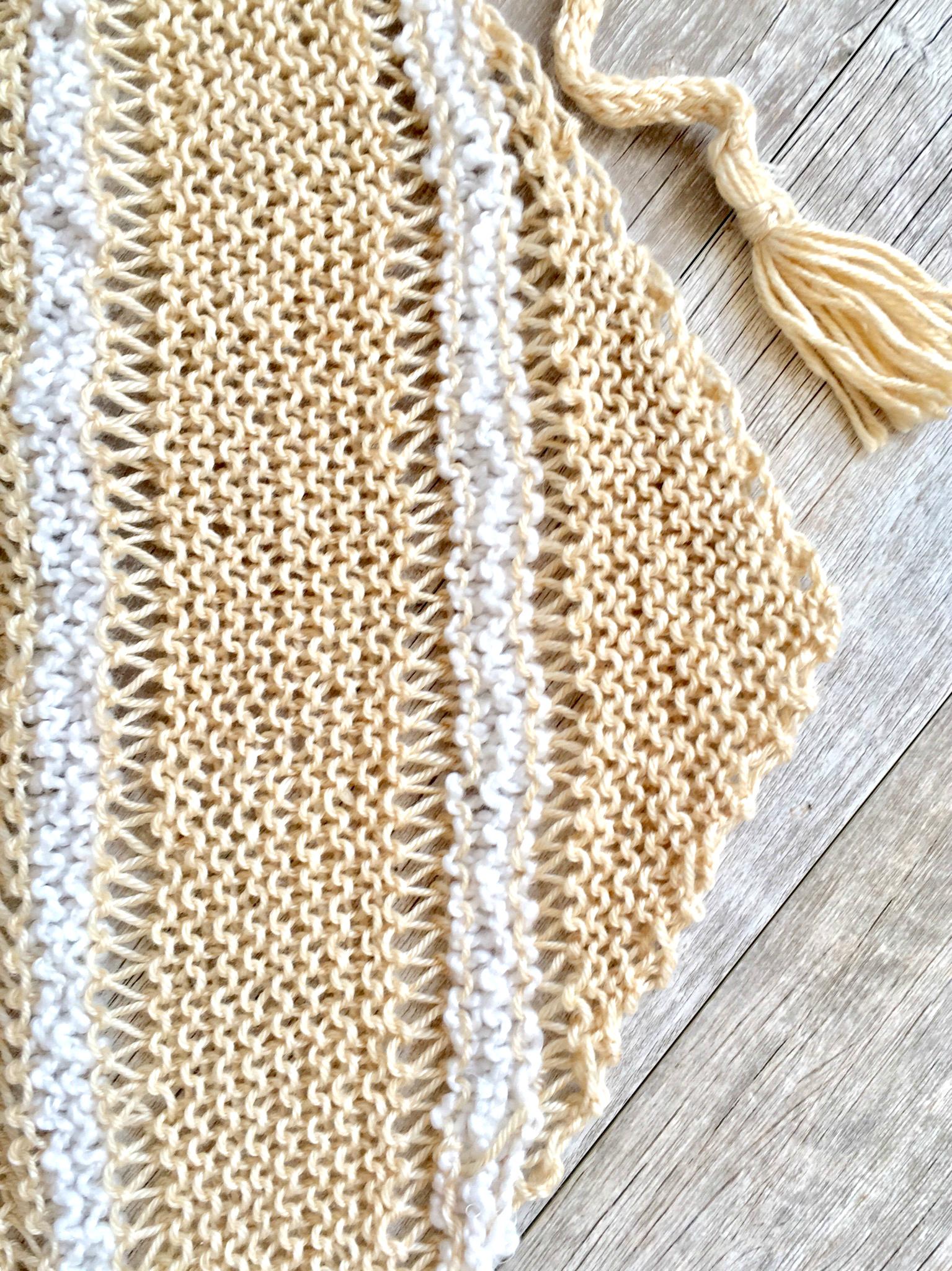 Triangle Wrap Top Free Knitting Pattern Mama In A Stitch