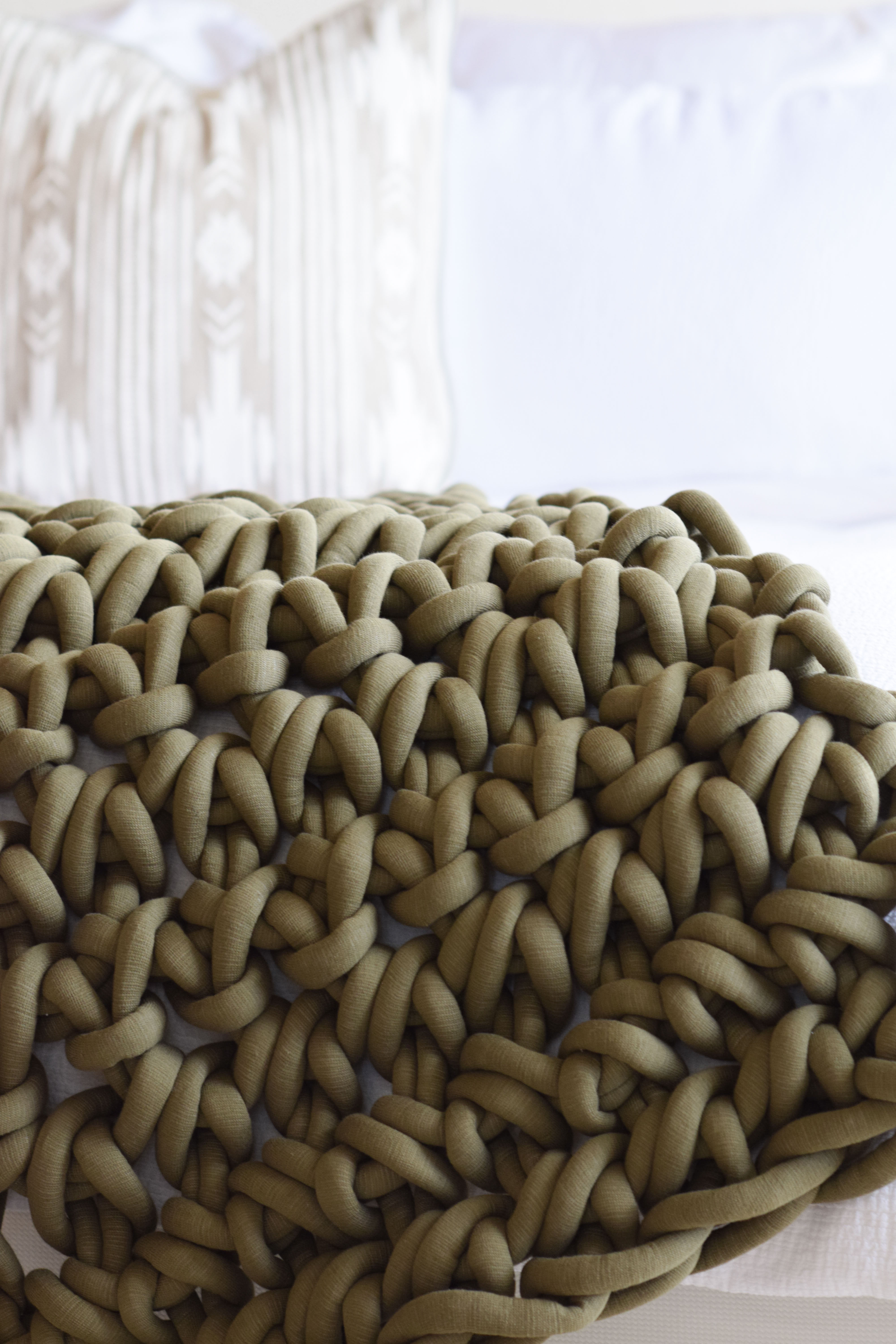 Hand Crocheted Big Blanket How To 1