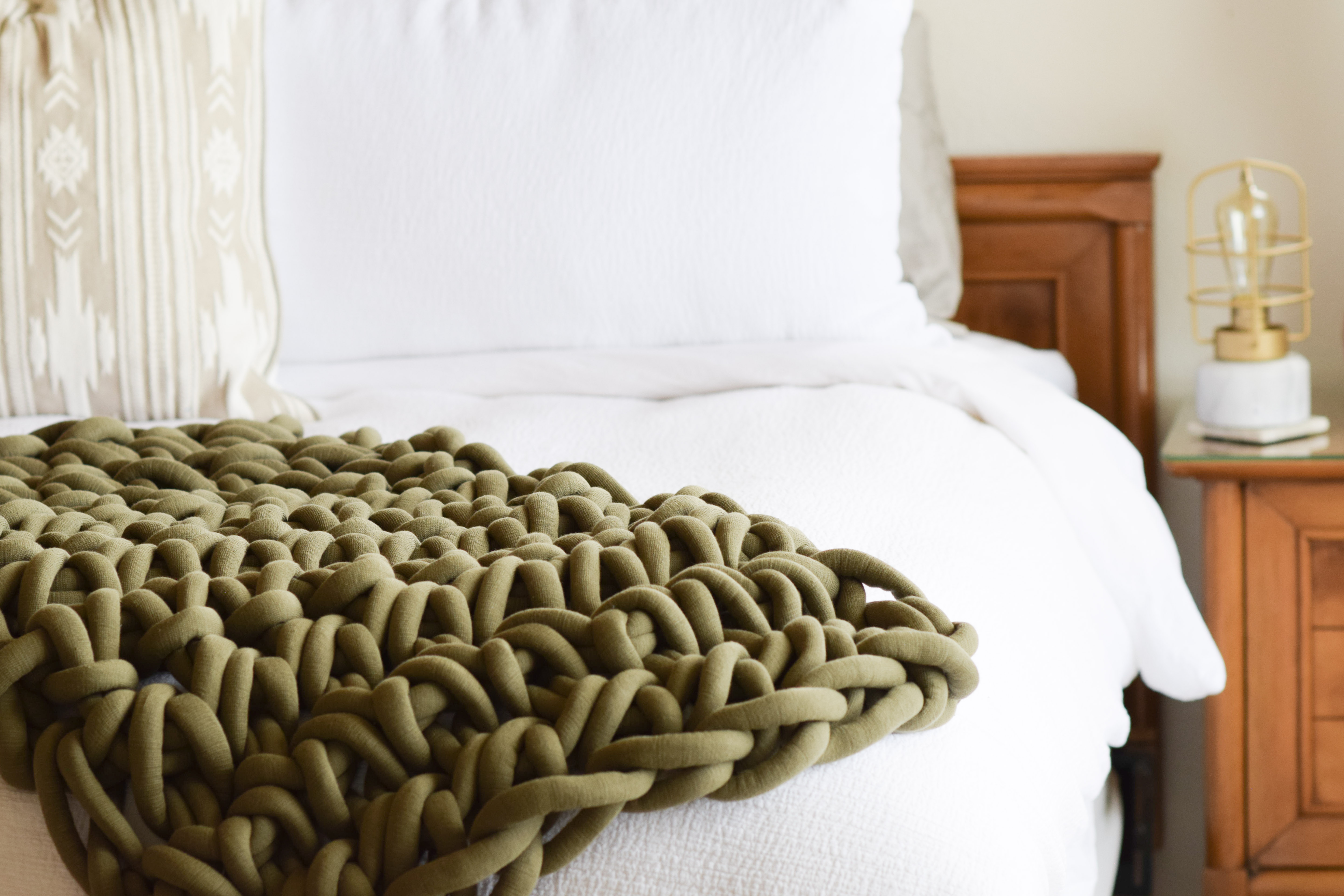Hand Crocheted Big Blanket How To 2