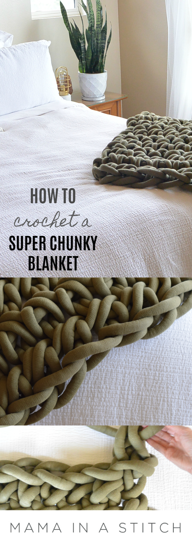 How To Crochet A Big Fast Blanket