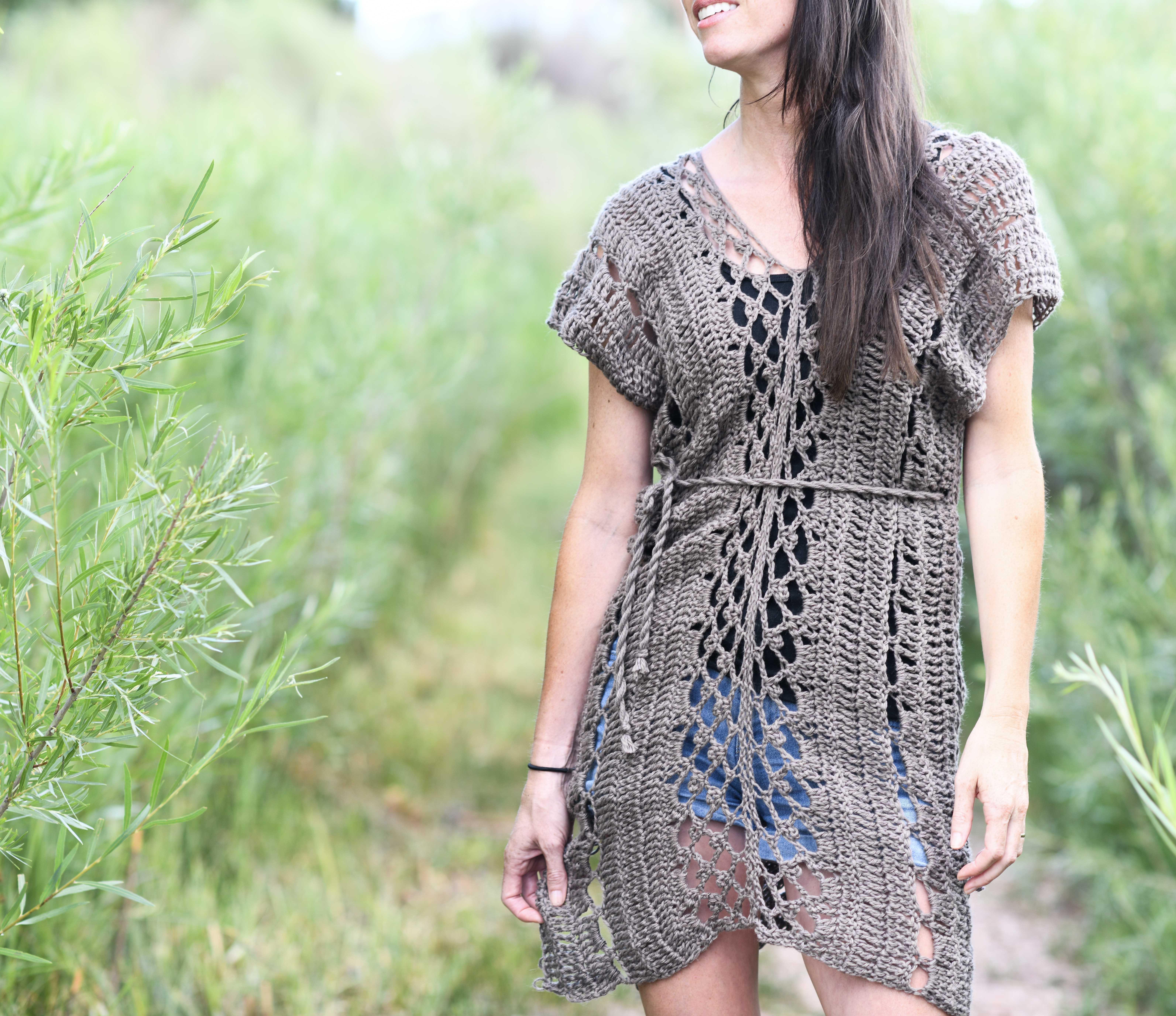 Madrid Tunic Free Crochet Pattern Mama In A Stitch