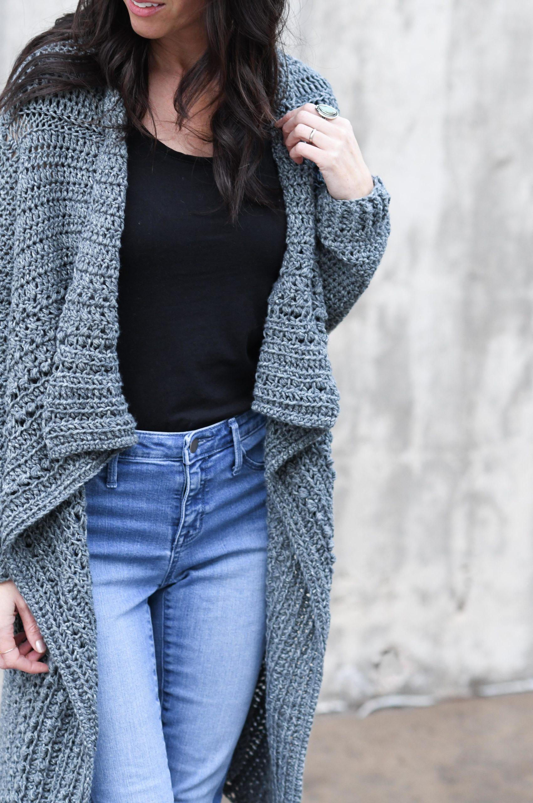 Free Girls Sweater Crochet Pattern – Mama In A Stitch