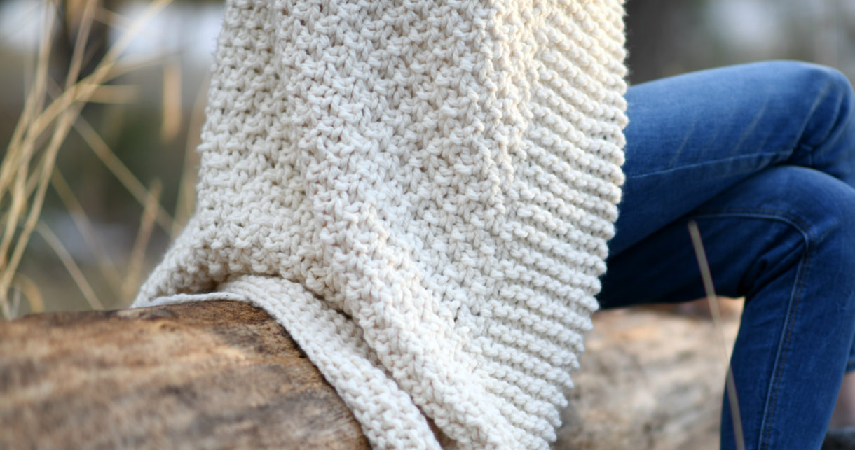Aspen Mountain Throw Blanket Knitting Pattern Mama In A Stitch