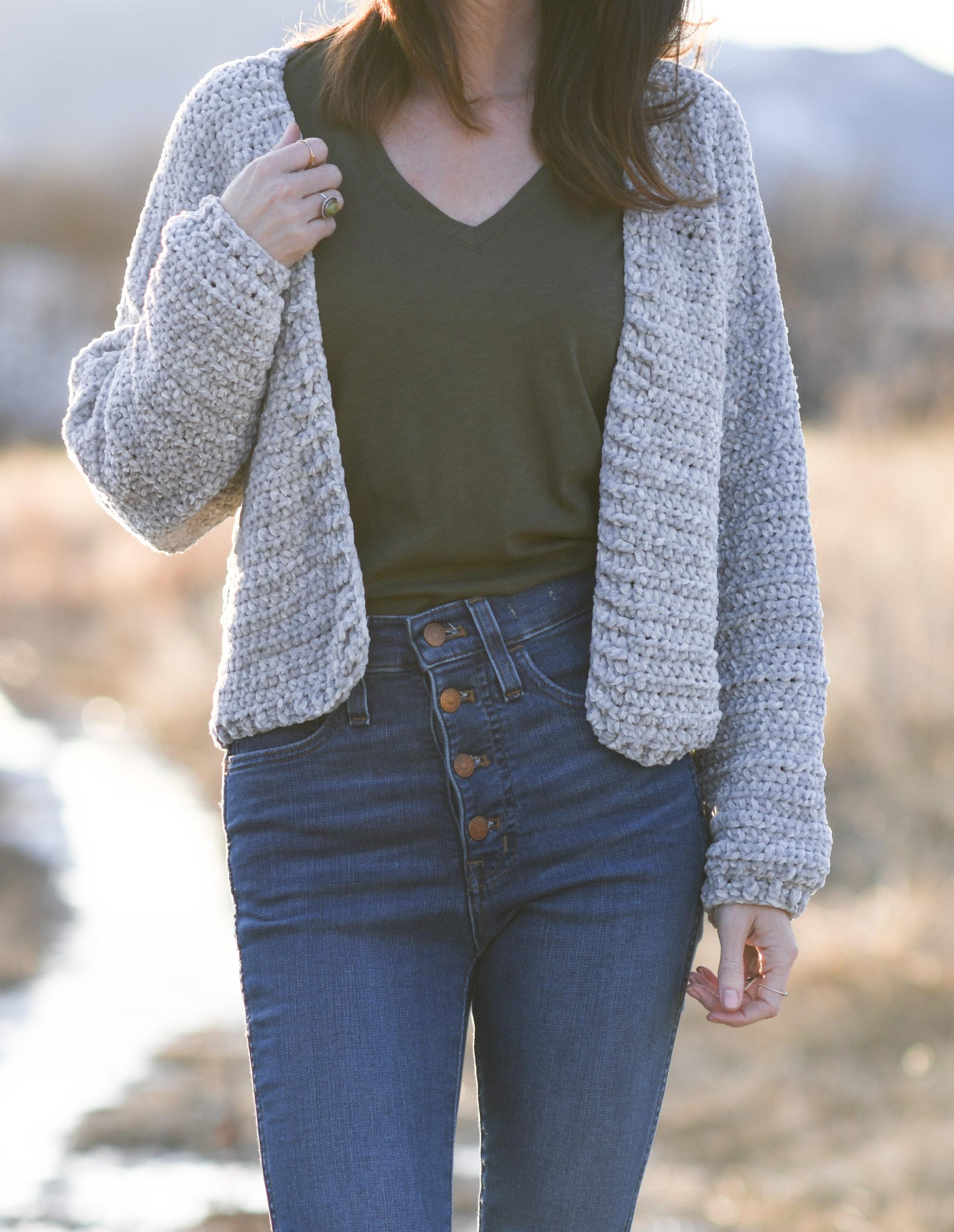 LOVELY Natalie Jacket//Crochet Pattern INSTRUCTIONS ONLY