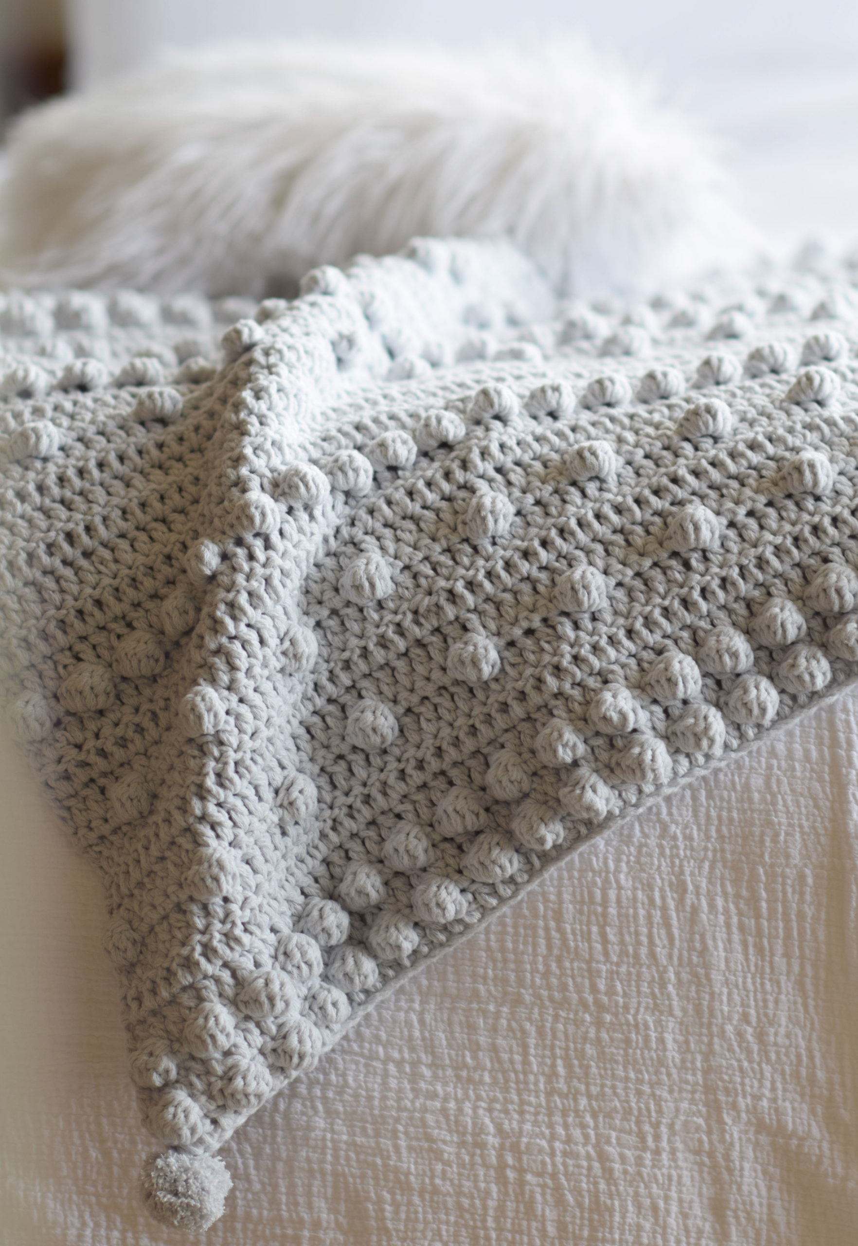 Bobble Blanket Crochet Pattern 1 scaled