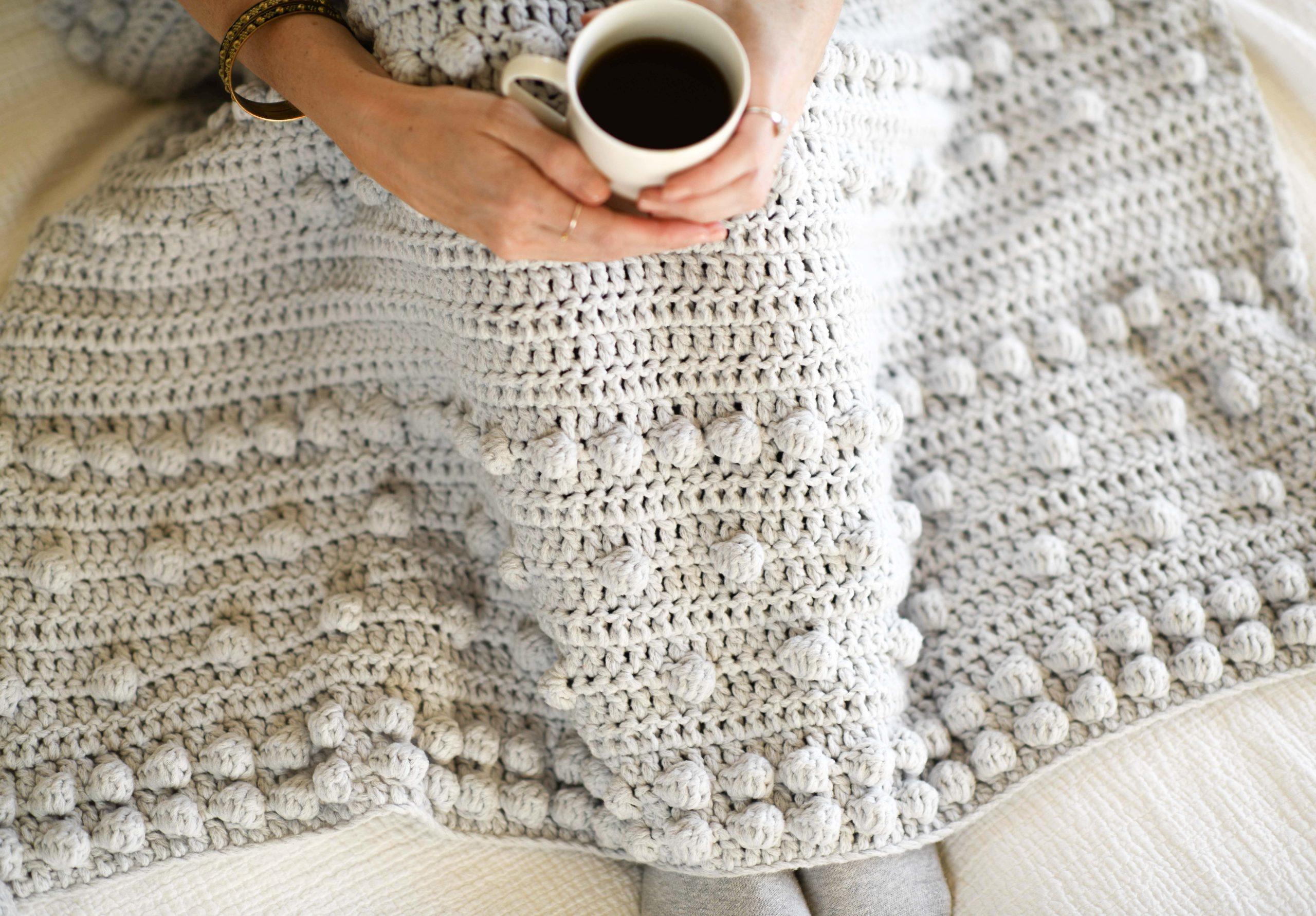 2 5 Crochet Bobble Blanket Patterns