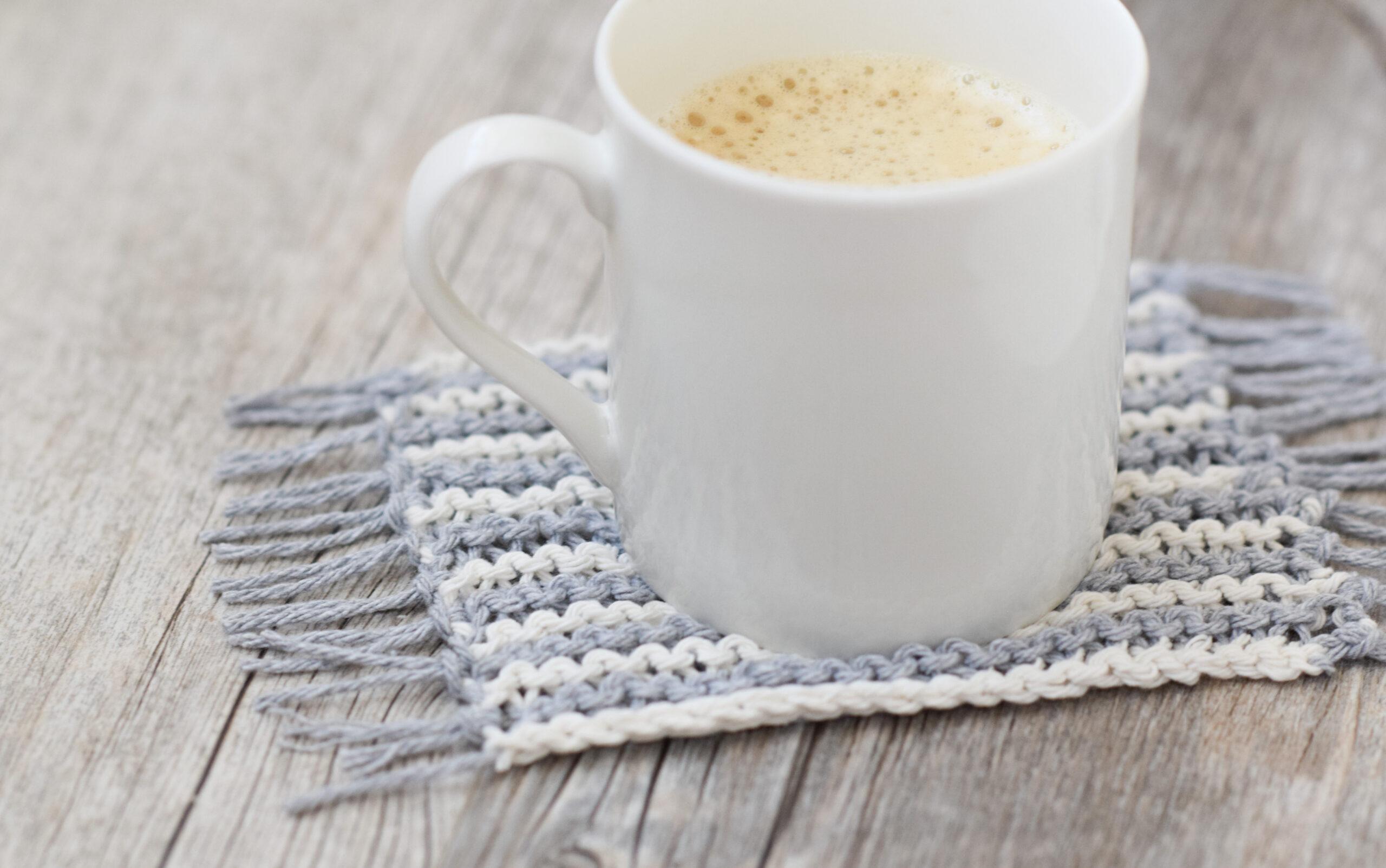 Knit Mug Rugs Free Pattern Mama In A Stitch